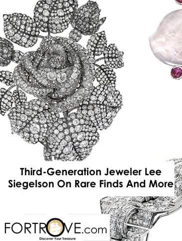 Third-Generation Jeweler Lee Siegelson On Rare Finds And More