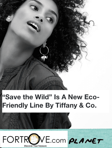 """Save The Wild"" Is A New Eco-Friendly Line By Tiffany & Co."