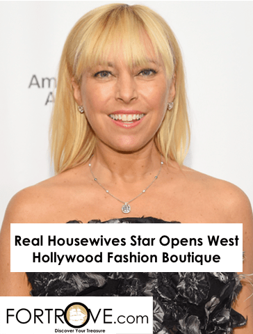 Real Housewives Star Opens West Hollywood Fashion Boutique