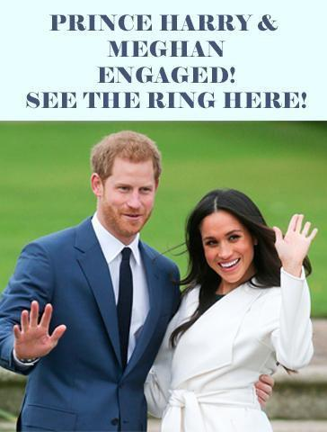 Prince Harry & Meghan Markle Engaged! See The Ring Here!