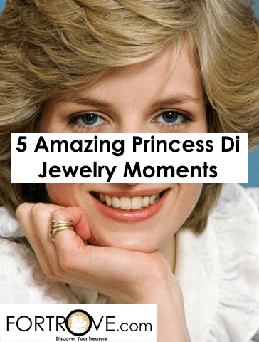 Five Amazing Princess Diana Jewelry Moments