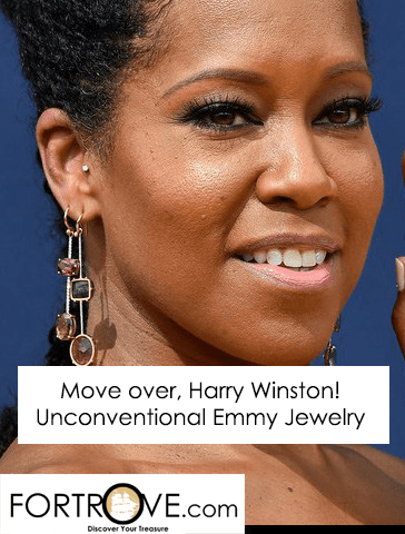 Move Over, Harry Winston! Unconventional Jewelry on the Emmy Red Carpet Rules!
