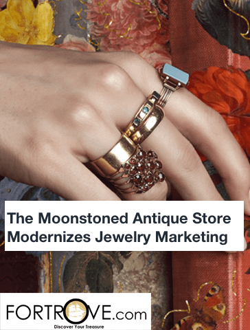 The Moonstoned Antique Store Modernizes Jewelry Marketing