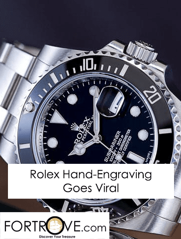 Rolex Submariner Hand Engraving by Bram Ramon Goes Viral