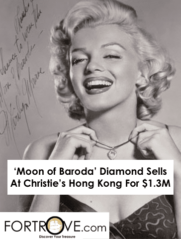'Moon of Baroda' Diamond Sells At Christie's Hong Kong For $1.3M