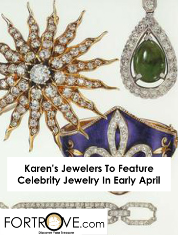 Karen's Jewelers To Feature Celebrity Jewelry In Early April