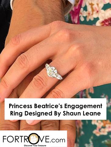 Princess Beatrice S Engagement Ring Designed By Shaun Leane
