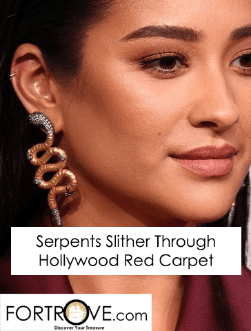 Serpents Slither Through Hollywood Red Carpet