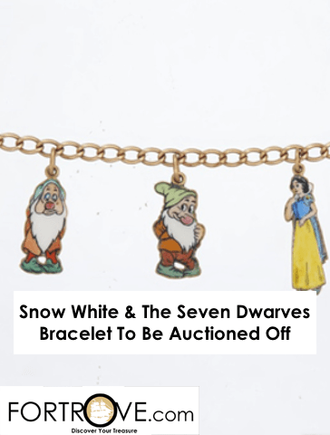 Snow White & The Seven Dwarves Bracelet To Be Auctioned Off