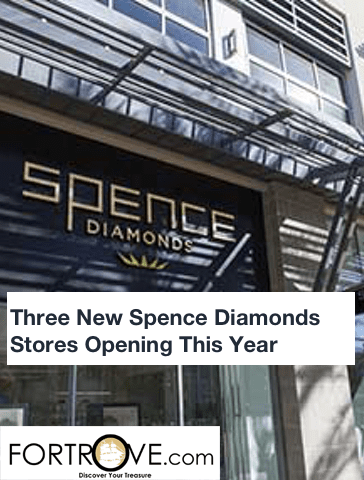 Three New Spence Diamonds Stores Opening This Year