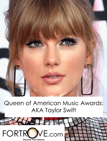 Queen of American Music Awards: Taylor Swift