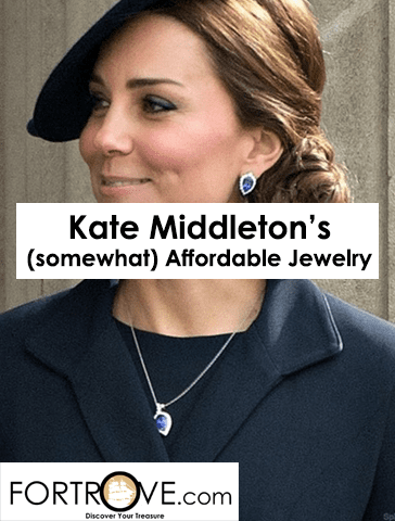 Kate Middleton: Her Designer Jewelry is Affordable (Sometimes)