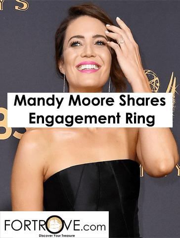 Mandy Moore Shares Understated Custom Engagement Ring by Irene Neuwirth