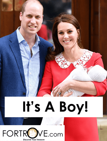 Duchess Of Cambridge Kate Middleton Delivers Baby #3:  It's a BOY!