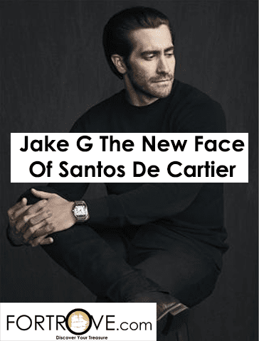 Jake Gyllenhaal is the new face of Santos de Cartier watch