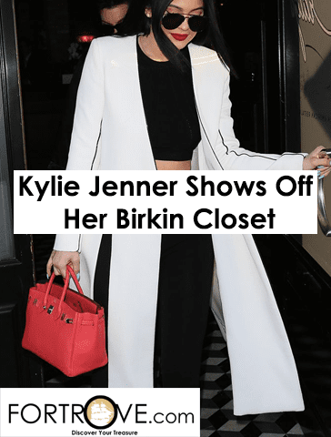 Kylie Jenner Shows Off Her Hermes Birkin Investments in Stunning Walk-In Closet