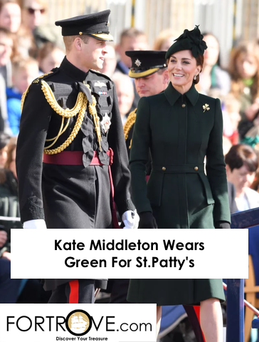 Kate Middleton Wears Green For St.Patty's