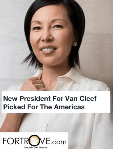 New President For Van Cleef Picked For The Americas