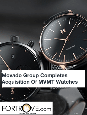 Movado Group Completes Acquisition Of MVMT Watches Inc.