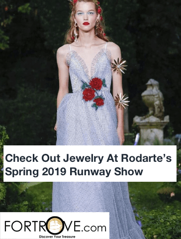 Check Out Jewelry At Rodarte's Spring 2019 Runway Show