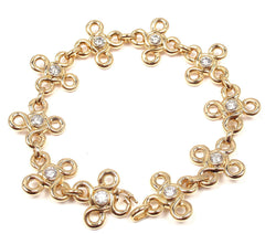 CHANEL 18K YELLOW GOLD DIAMOND BRACELET PAPERS