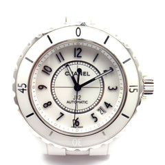 Chanel J12 White Ceramic Steel Automatic 38mm Watch