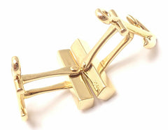 Rare! Authentic Tiffany & Co Anchors 18k Yellow Gold Cufflinks