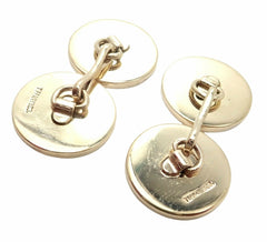 Authentic Tiffany & Co. 14k Yellow Gold Mens Cufflinks Tuxedo Buttons Full Set