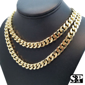 Hip Hop Rapper's Gold Plated 10mm 18