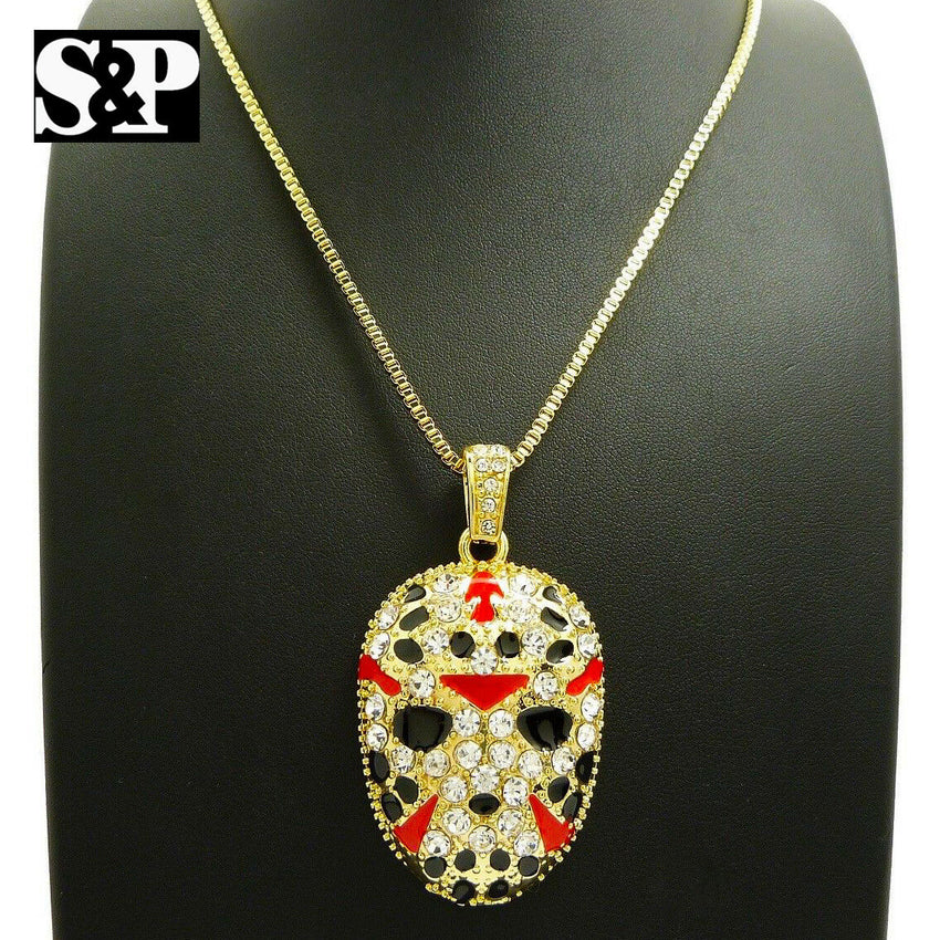"New Iced Out Savage 21 Slaughter Gang Pendant 24"" Various Chain Hip Hop Necklace"