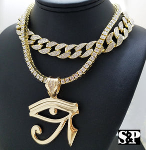 Hip Hop Eye of Horus w/ 18