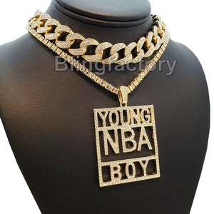 Hip Hop YOUNG NBA BOY & 18