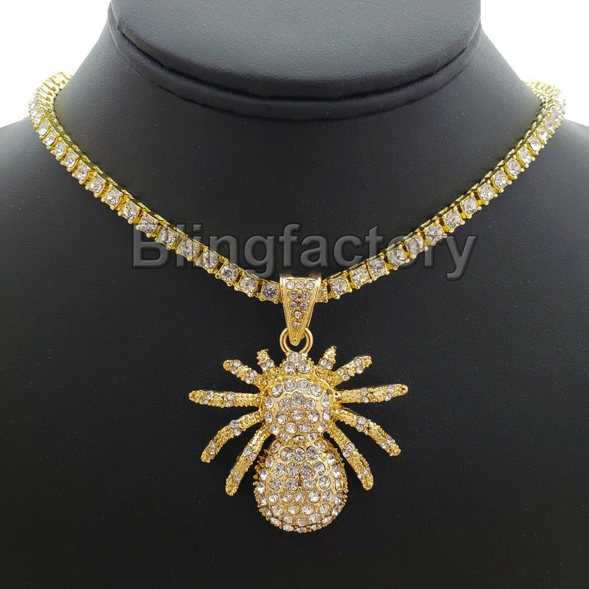 Spider Necklace on 18 inch Chain