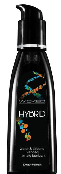 Wicked Aqua blended silicone sex lubricant