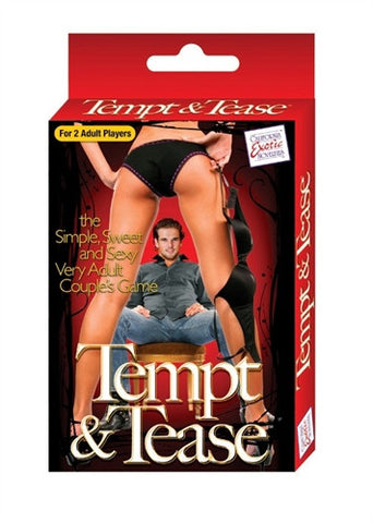 Tempt and Tease Sex Card Game for couples SE2519003