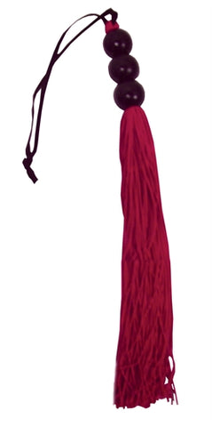 Rubber Whip Small 10-Inch - Red - KG