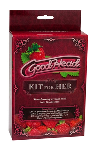 Good Head Kit (For giving HER better oral sex) - KG