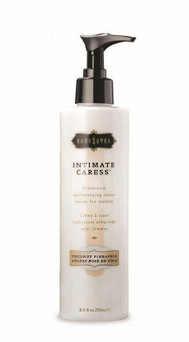 Intimate Caress Shaving Creme Coconut Pineapple 8.5 Fl. Oz - KG