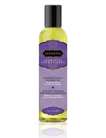 Aromatic Massage Oil - Harmony - 8 Fl. Oz. - KG