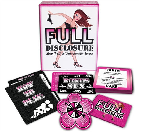 Full Disclosure - Kissy Games