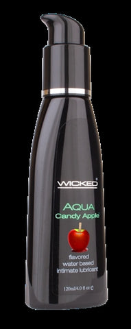 Aqua Candy Apple Flavored Water-Based Lubricant 2 Oz. - KG