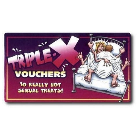 Triple-X Vouchers Sex vouchers for couples OZ-VB-03E
