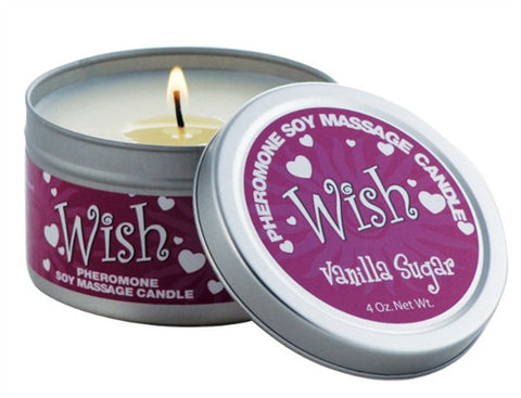 Pheromone  Candle Wish - 4 Oz. - KG