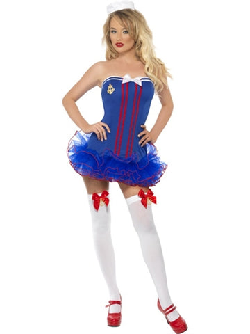 Fever Tutu Sailor Costume - Extra Small - KG
