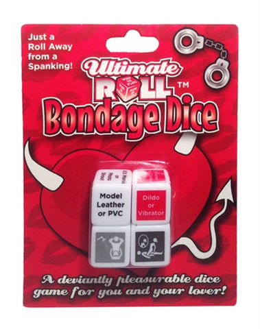 Ultimate Roll Bondage Dice - Kissy Games