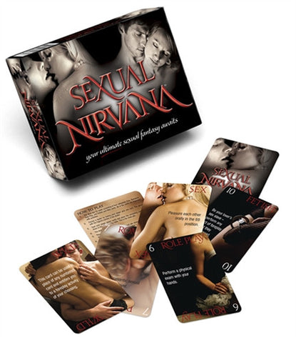 Sexual Nirvana Sex Card Game for Couples LG-BG029