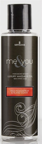 Me and You Massage Oil - Wild Passionfruit and Island Guava - 4.2 Oz. - KG