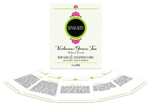 Sensuality Bath Set - Verbena and Green Tea KG-BGR25