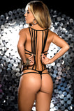 Strappy Bikini Lingerie One Piece - KG