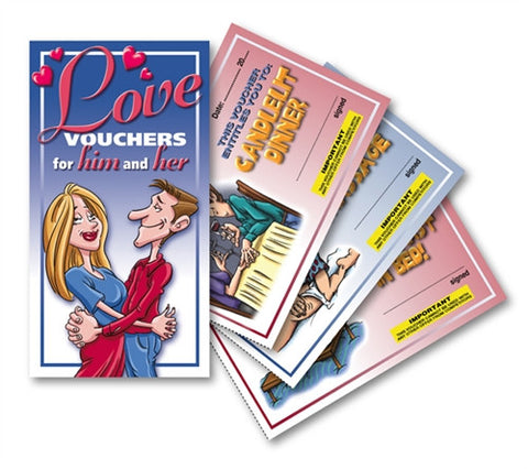Love Vouchers for Him & Her - KG